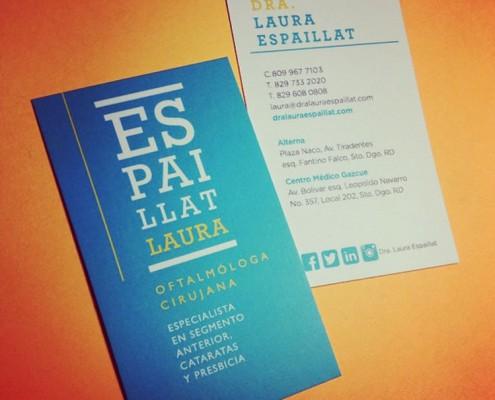 Tarjeta de presentación Dra. Laura Espaillat